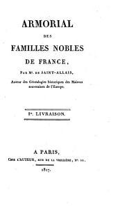 Armorial des familles nobles de France