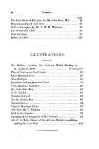 The Golfing Annual PDF