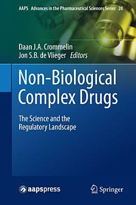 Non-Biological Complex Drugs
