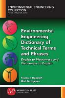 Environmental Engineering Dictionary of Technical Terms and Phrases PDF