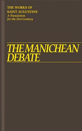 The Manichean Debate PDF