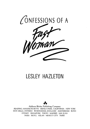 Confessions of a Fast Woman PDF