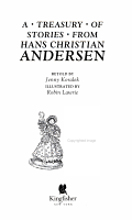 A Treasury of Stories from Hans Christian Andersen PDF