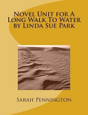 Novel Unit for a Long Walk to Water by Linda Sue Park Book