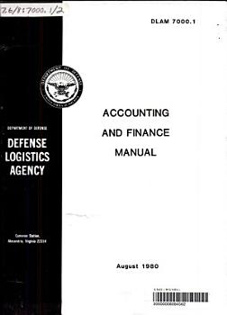 Accounting and Finance Manual PDF