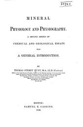 Mineral Physiology and Physiography
