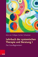 Lehrbuch der systemischen Therapie und Beratung I PDF