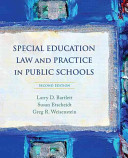 Special Education Law and Practice in Public Schools Book