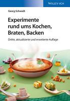 Experimente rund ums Kochen  Braten  Backen PDF