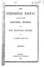 The Intercolonial Railway