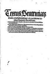 Textus Sententia[rum]