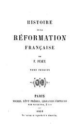 Histoire de la réformation française