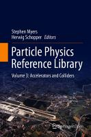 Particle Physics Reference Library PDF