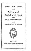 Journal of the     Annual Convention  Diocese of Western Michigan PDF