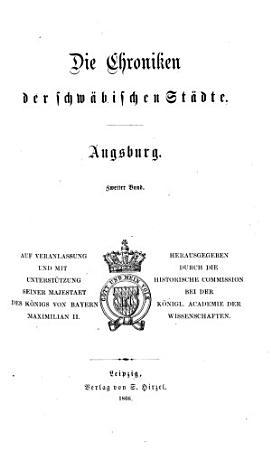 Die Chroniken der schw  bischen St  dte PDF