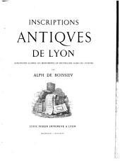 Inscriptions antiques de Lyon (ezz.)