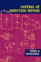 Control of Induction Motors PDF