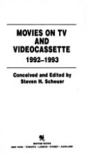 Movies on TV and Videocassette  1992 1993 PDF