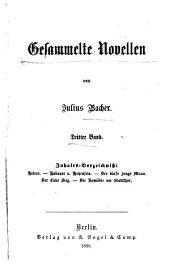 Gesammelte Novellen: Helene. Hollauer v. Hohenfels. Der blasse junge Mann. Der Liebe Sieg. Die Komödie am Stadtthor