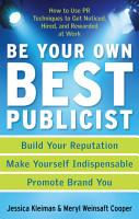Be Your Own Best Publicist PDF