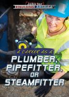 A Career as a Plumber  Pipefitter  or Steamfitter PDF