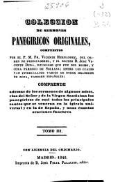 Colección de sermones panegíricos originales: (1848. 336 p. )