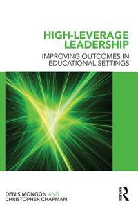 High Leverage Leadership Book
