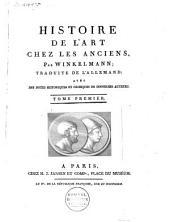 Geschichte der Kunst des Altertums. Français