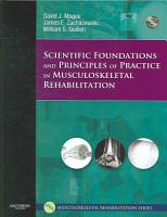 Scientific Foundations and Principles of Practice in Musculoskeletal Rehabilitation PDF