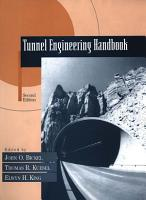 Tunnel Engineering Handbook PDF