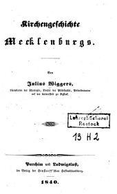 Kirchengeschichte Mecklenburgs