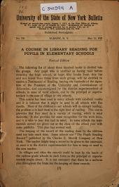 Health Education Series: Bulletin, Issue 758