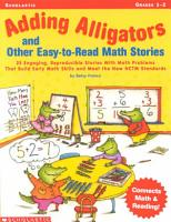 Adding Alligatros and Other Easy to Read Math Stories PDF