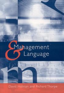 Management and Language Book