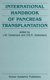 International Handbook of Pancreas Transplantation