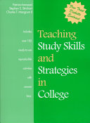 Teaching Study Skills and Strategies in College PDF