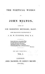 The Poetical Works of John Milton: Volume 1