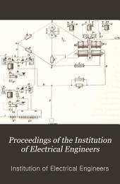 Proceedings of the Institution of Electrical Engineers: Volume 6