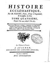 Histoire ecclésiastique: Volume4