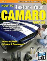 How to Restore Your Camaro 1967 1969 PDF