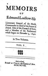 Memoirs (mit dessen Bildniss.): Volume 1