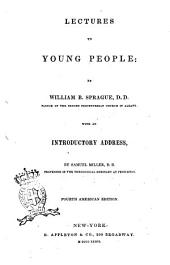Lectures to Young People by William B. Sprague