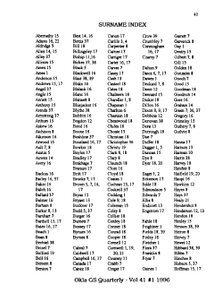 Oklahoma Genealogical Society Quarterly PDF