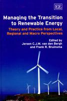 Managing the Transition to Renewable Energy PDF