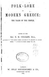 Folk-lore of Modern Greece: The Tales of the People