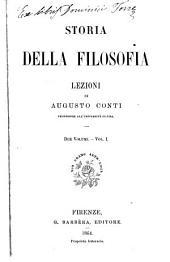 Storia della filosofia: Volume 1