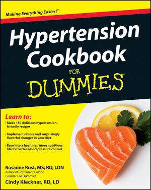 Hypertension Cookbook For Dummies PDF