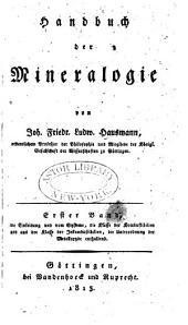 Handbuch der Mineralogie: Bände 1-3
