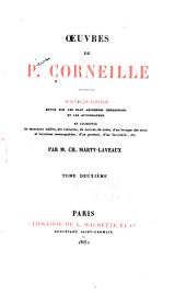 Oeuvres de P. Corneille: Volume2