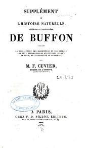 Œuvres complètes de Buffon: Volume28